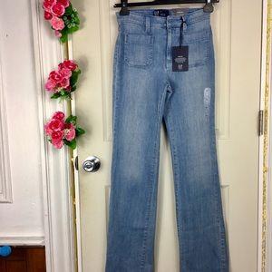 GAP Jeans wide leg Stretch Indigo Brand New